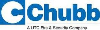 Chubb Security - Image: Chubb a UTC Fire and Security Company logo