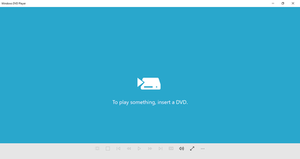 DVD Player (Windows) - Image: DVD Player (Windows 10) screenshot