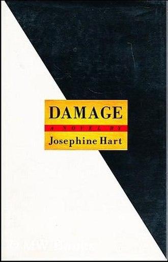 Damage (Hart novel) - 1st American ed. cover