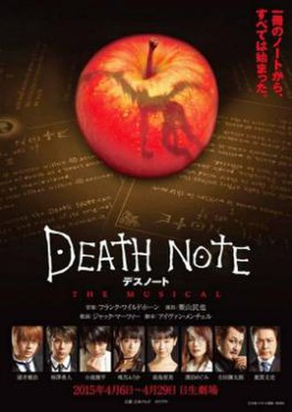 Death Note: The Musical - Poster for 2015 South Korea Production