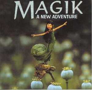 Magik Four: A New Adventure - Image: Djtiestomagik 4front 4jj