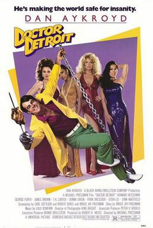 Doctor Detroit - Theatrical release poster