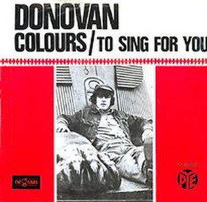 Colours (Donovan song) - Image: Donovan Colours single