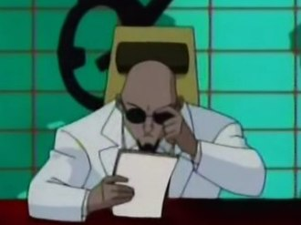 Hugo Strange - Hugo Strange in Justice League Unlimited.