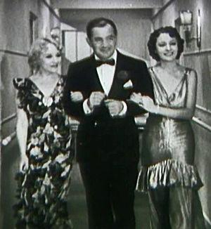 False Pretenses (1935 film) - Still with Betty Compson, Sidney Blackmer, and Irene Ware.