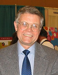 Anderson at the National Council for History Education, Pittsburgh, 2005