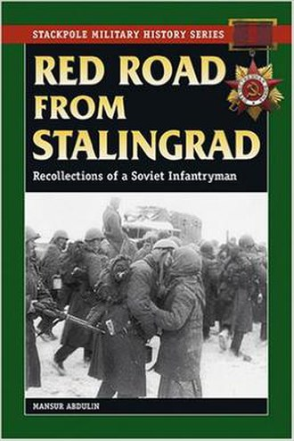 """Red Road from Stalingrad - Image: Front cover of Mansur Abdulin """"Red Road from Stalingrad"""", Stackpole edition"""