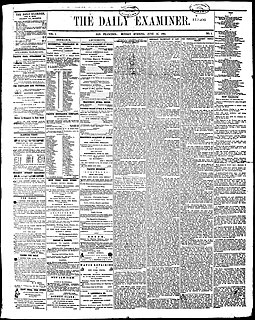 newspaper in San Francisco, California
