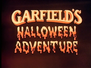Garfield's Halloween Adventure - Title