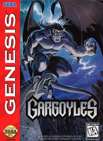 Gargoyles (video game) - Image: Gargoyles game cover
