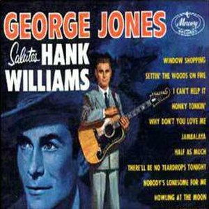 George Jones Salutes Hank Williams - Image: George Jones Salutes Hank Williams