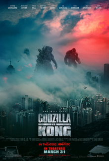 Godzilla vs. Kong 2021 USA Adam Wingard Alexander Skarsgård Millie Bobby Brown Rebecca Hall  Action, Sci-Fi, Thriller