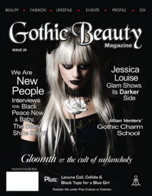 Gothic Beauty - Image: Gothic Beauty magazine