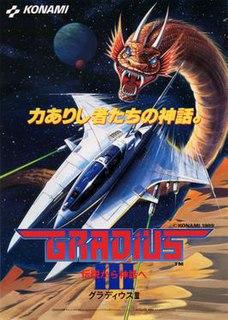 <i>Gradius III</i> 1989 shoot em up video game