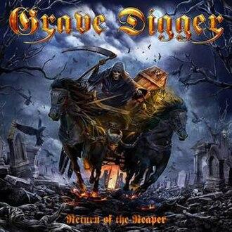 Return of the Reaper (album) - Image: Gravediggerreturnoft hereapercd