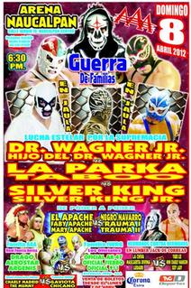 Guerra de Familias (2012) 2012 International Wrestling Revolution Group event