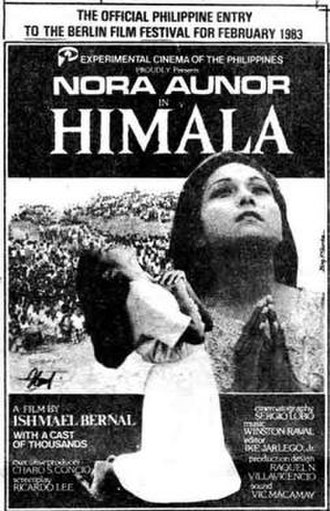 Himala - Theatrical release poster