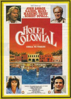 Hotel Colonial - Theatrical release poster