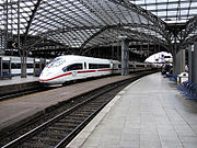 ICE3 at Cologne Central Station