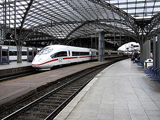 Transport in Cologne - Image: Ice 3 station