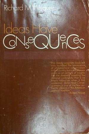 cover to a recent edition of Ideas Have Conseq...