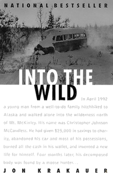 into the wild book into the wild book cover png