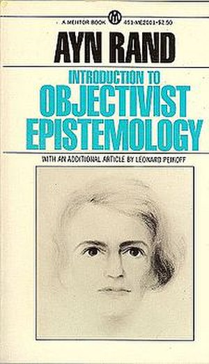 Introduction to Objectivist Epistemology - Cover of the 1979 New American Library edition