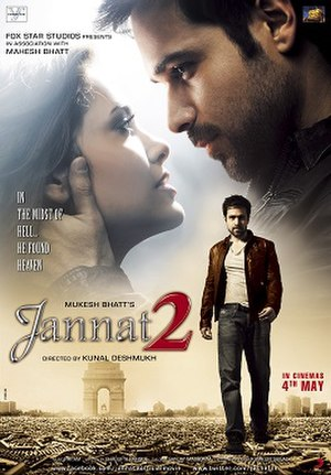 Jannat 2 - Theatrical release poster