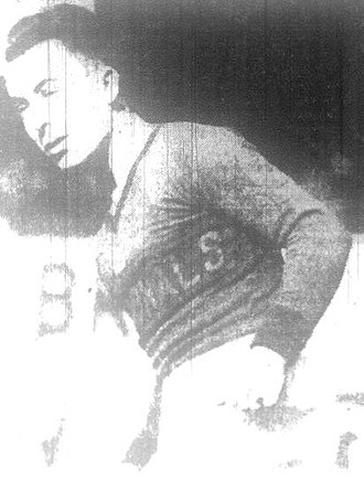 Jimmy Gallagher - Gallagher with the New York Nationals in 1931