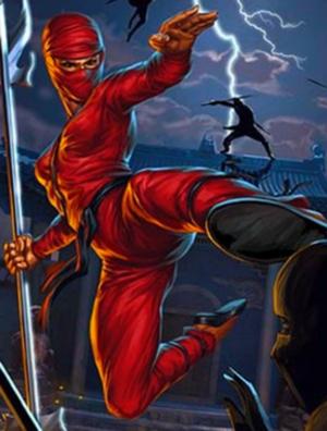 Jinx (G.I. Joe) - Illustration of Jinx for a G.I. Joe: Battleground card, based on her original action figure.