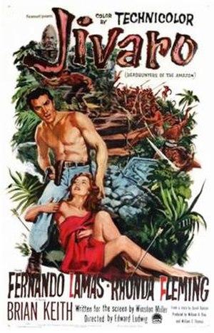 Jivaro (film) - Image: Jivaro 1954 movie poster