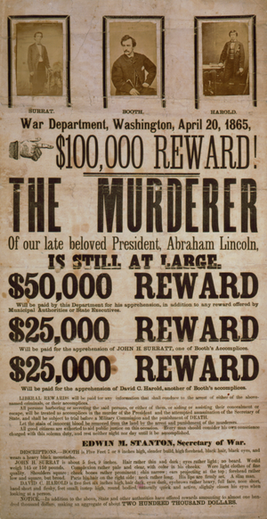 $100,000 reward! The murderer of our late belo...