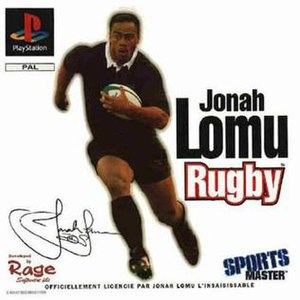 Jonah Lomu Rugby - Image: Johna lomu rugby cover