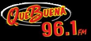 KCEL - Image: KCEL Que Buena 96.1 logo