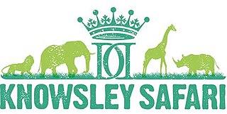 Knowsley Safari Park zoo in Merseyside, England