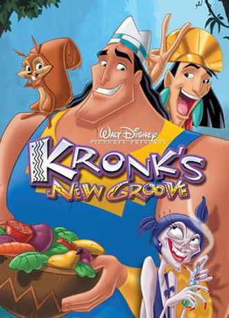 Kronk's New Groove - Image: Kronk's New Groove cover