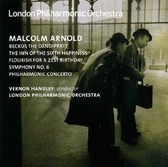 Symphony No. 6 (Arnold) - LPO recording of Malcolm Arnold's Symphony No. 6