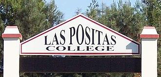 Las Positas College - Image: Las Positas College sign 1