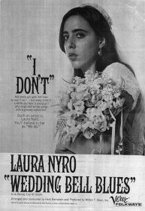 Wedding Bell Blues - Promotional poster for Nyro's 1966 single release.