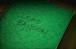 Lead Balloon - Image: Lead Balloon Title Screen