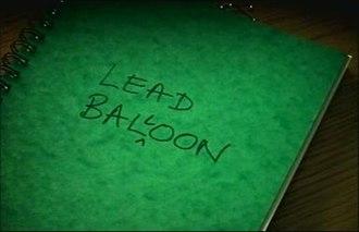 Lead Balloon - Image: Lead Balloon Title Screen