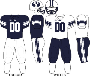 2003 BYU Cougars football team - Mountain West Conference - BYU Football Uniform