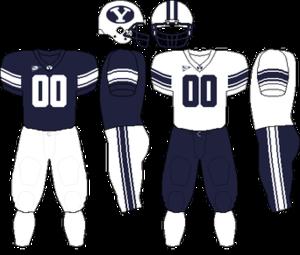 2010 BYU Cougars football team - Image: MWC Uniform BYU 2005 2008,2010