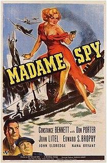 <i>Madame Spy</i> (1942 film) 1942 film by Roy William Neill