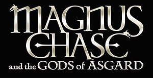 Magnus Chase and the Gods of Asgard - First edition cover of The Sword of Summer,  the first book in the series