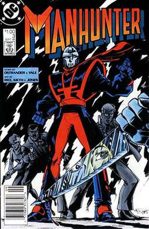 Manhunter (comics) - Mark Shaw, as he appeared in his 1980s series