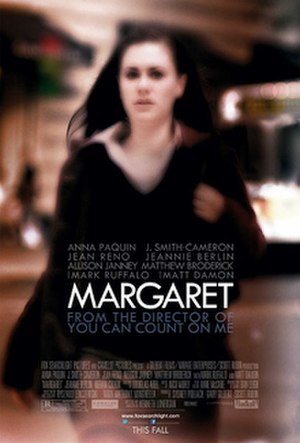 Margaret (2011 film) - Theatrical release poster