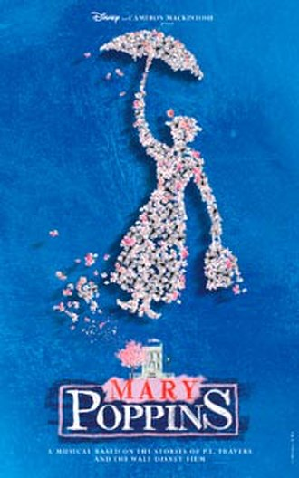 Mary Poppins (musical) - London promotional poster