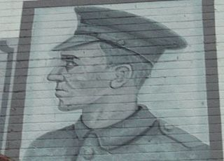 William McFadzean British recipient of the Victoria Cross