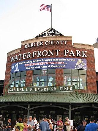 Trenton, New Jersey - Arm & Hammer Park